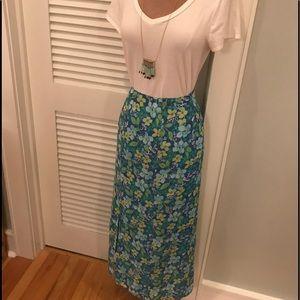 Sigrid Olsen Floral Skirt